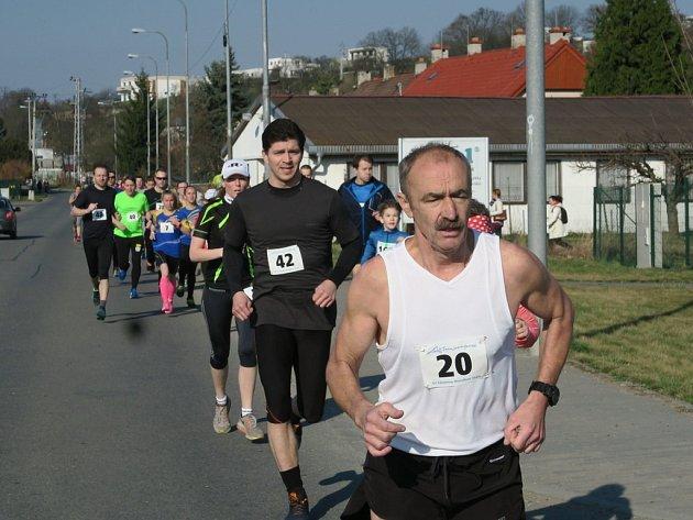 Běh na 2 míle ve Zlíně 2017.