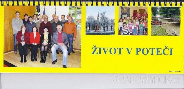 Kalendář obce Poteč
