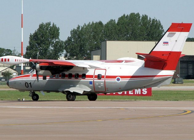 Turbovrtulový dopravní letoun L 410