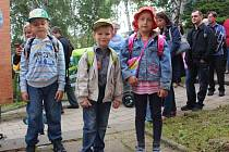 První školní den v ZŠ Okružní ve Zlíně
