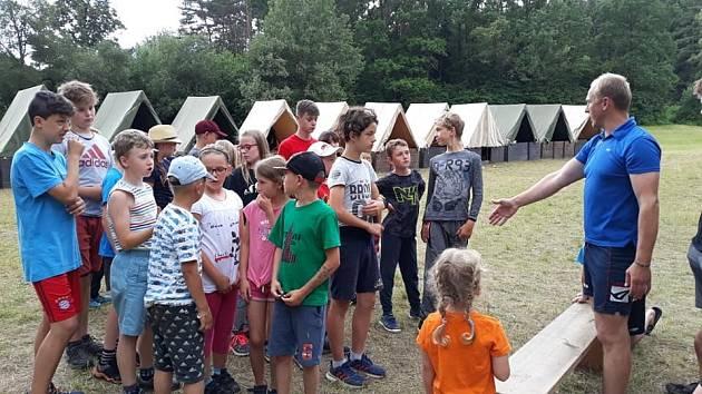 SDH Jasenná a jejich tradiční tábor pro nejen malé Jaseňany.