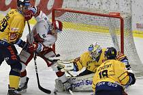 PSG Berani Zlín - Mountfield Hradec Králové - utkání 29. kola hokejové extraligy
