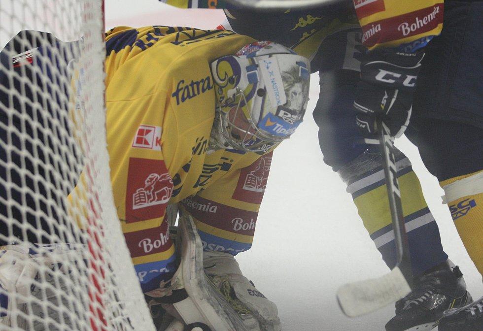 Michal Kořének uplynulé léto odchytal dva zápasy v Generali Česká Cup. Po prohře v Třinci 2:5 doma pomohl porazit Přerov 4:1.