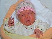 Adéla Vítková z Uherského Brodu se narodila 13.2.2012 s mírou 44cm a váhou 2700g