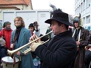 Lešetínský fašank si nenechaly ujít stovky lidí