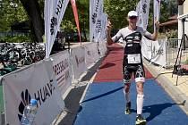 Petr Vabroušek v Pressburg triatlonu v Bratislavě 2019