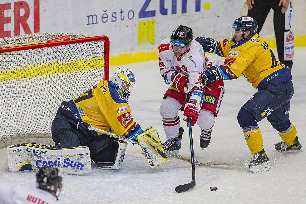 Zlín proti Olomouci - 13. 12. 2020