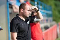 Trenér Otrokovic Michal Hubník
