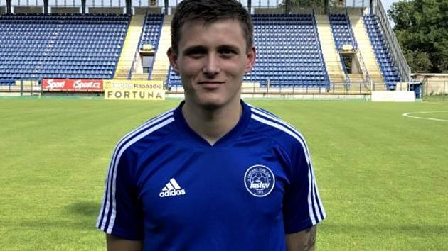 Fotbalisté Zlína přivedli do útoku dvaadvacetiletého Petra Pejšu z třetiligového Vltavína