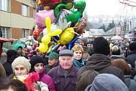 Lešetínský fašank si pravidelně nenechají ujít stovky lidí. Ilustrační foto