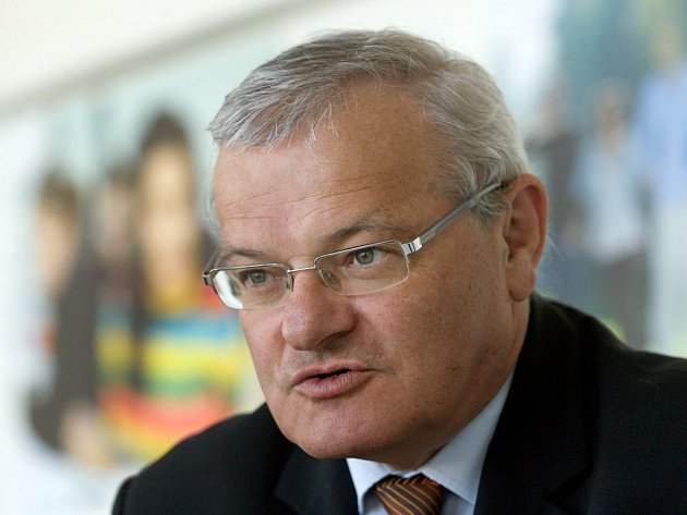 Petr Sáha rektor Univerzity Tomáše Bati ve Zlíně.