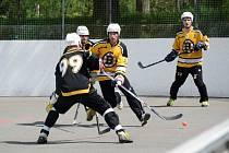 Ilustrační foto z Malenovické hokejbalové ligy 2015