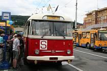 Dopravní společnost Zlín-Otrokovice pořádala den otevřených dveří