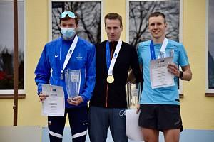 Ondřej Fejfar na MČR v půlmaratonu 2021