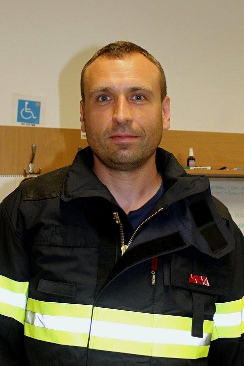 hasič Martin Palát