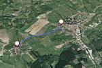 S úplnou uzavírkou silnice mezi Valašskými Klobouky a Lipinou od 17. září do 1. října.
