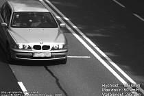 Kamery zachytily BMW Poláka. Naměřily mu rychlost 126 kilometrů v hodině na padesátce.