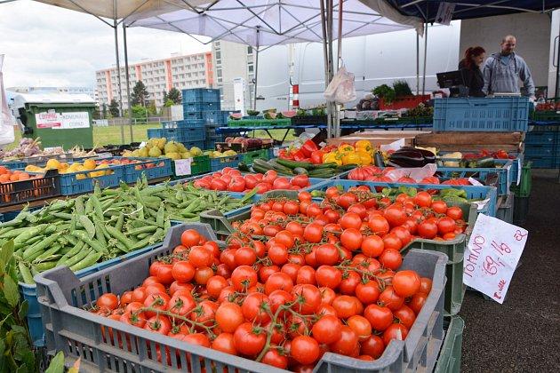 Farmářský trh. Ilustrační foto.