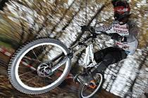 Biker Martin Hoferek byl se sezonou velmi spokojený.