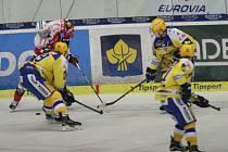 Hokej Zlín – Pardubice