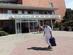 Areál krajské nemocnice T. Bati. Ilustrační foto.