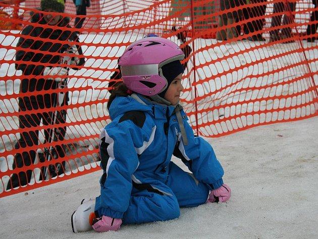 Na sjezdovce v krajském městě zaznamenali letos větší návštěvnost dětí.
