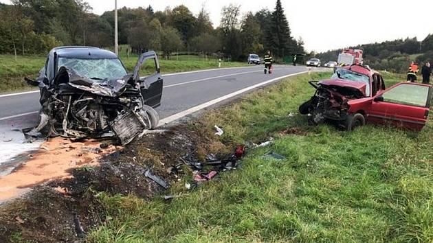 Tragická nehoda u Brumova-Bylnice