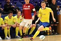 Futsalisté Zlína (ve žlutém). Ilustrační foto