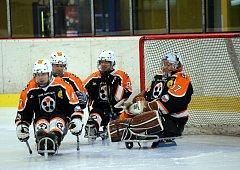 Sledge hokejisté Zlína na Lapp Cupu