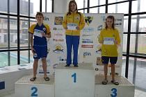 Nový Zlínský plavecký klub, oblastní přebory podzim 2012