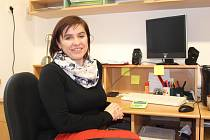 Martina Burdová, starostka obce Křekov