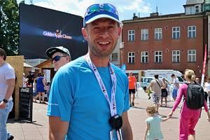 hlavní pořadatel Festivalového půlmaratonu ve Zlíně Bohuslav Komín