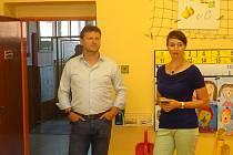 Návštěva předsedy Poslanecké sněmovny České republiky Radka Vondráčka ve Žlutavě