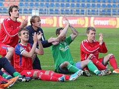 Hráči Brna po zápase se Slováckem