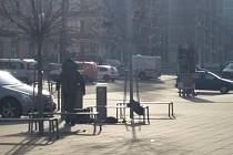 Hasiči evakuovali budovu v centru Zlína