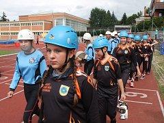Ve Zlíně se koná celostátní soutěž hasičů