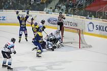 Hokejový zápas Bílí Tygři vs Berani Zlín