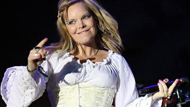 Finská metalová kapela Nightwish na festivalu Masters of Rock
