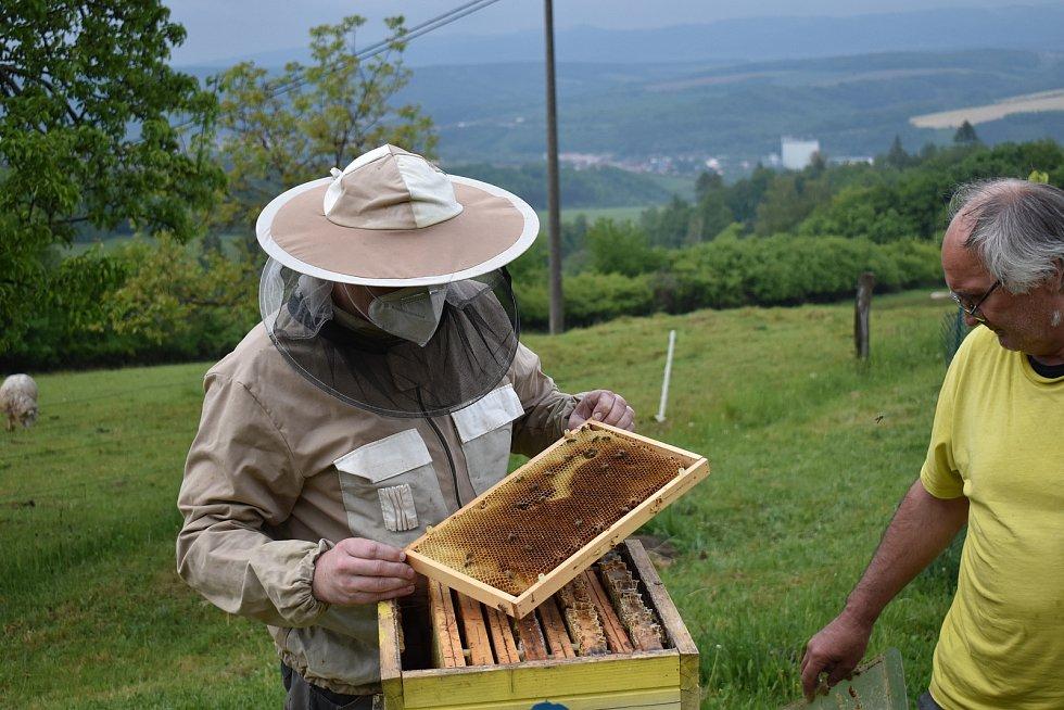 Včelař Roman Slavík