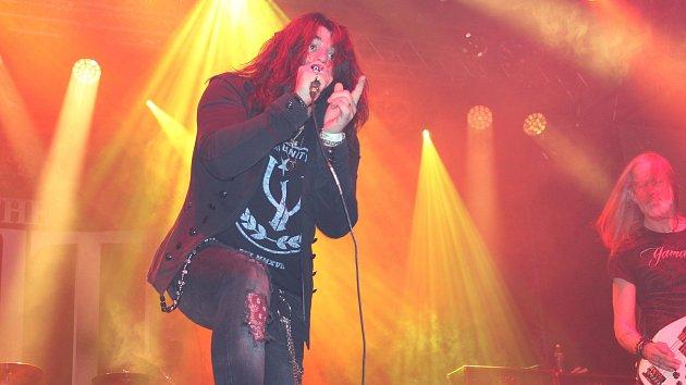 Zimní Masters of Rock ve zlínské hale Euronics - německá hardrocková kapela The Unity