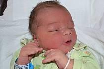 Jan Šuráň ze Zlína se narodil 21.3.2012, 53 cm a 4330 g