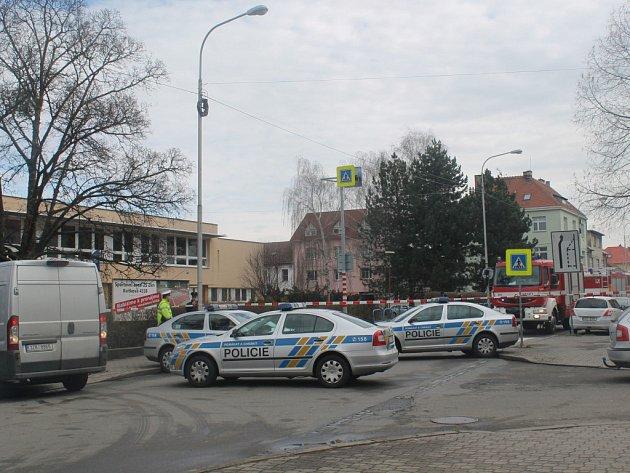 Evakuace ZŠ Kvítková