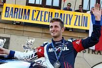 Barum Czech rally Zlín 2016. 3. místo Jan Černý