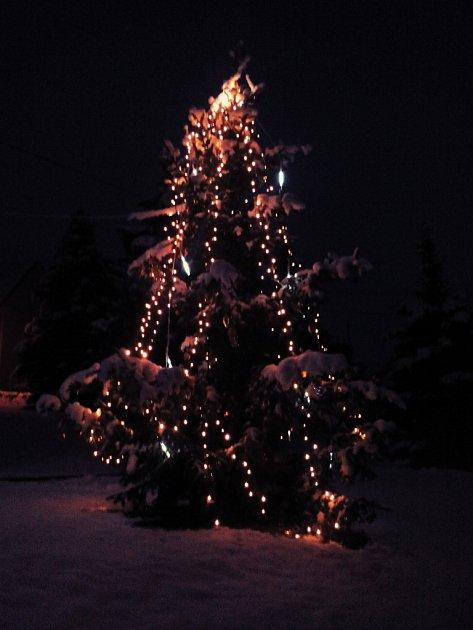 Vánoční strom Rudice