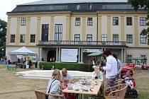 Na nádvoří Zlínského zámku a v parku Svobody se v sobotu během dne konal první ročník akce zvané Family Fest.