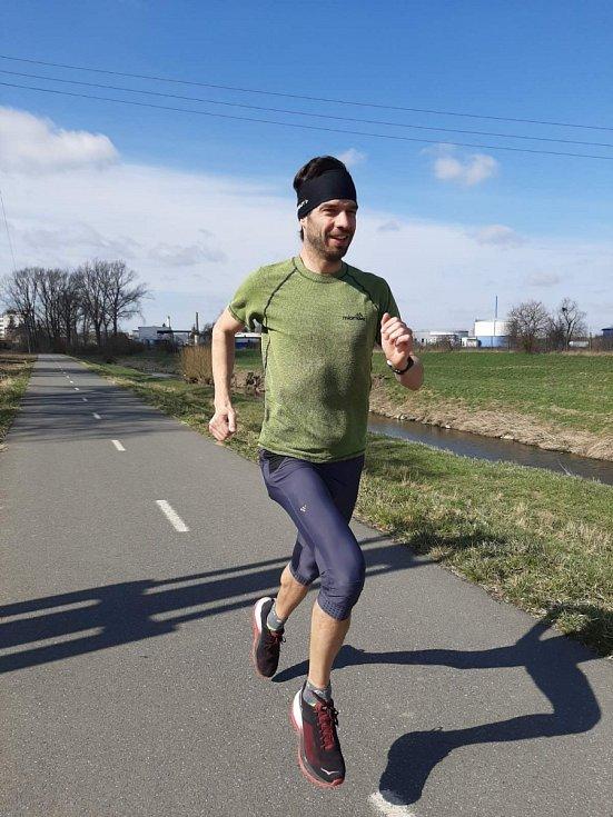 Jan Kábela virtuální půlmaraton pořádaný spolkem Běhy Zlín