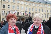 Jaroslava Směšná a Eva Janíková ze Slovácka se vydaly do Prahy také. Být na inauguraci prezidenta byl pro ně zážitek. Z ceremoniálu byly dojaté.