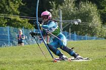 Travní lyžařka Alena Veselá získala na mistrovství světa ve Štítné nad Vláří stříbro.