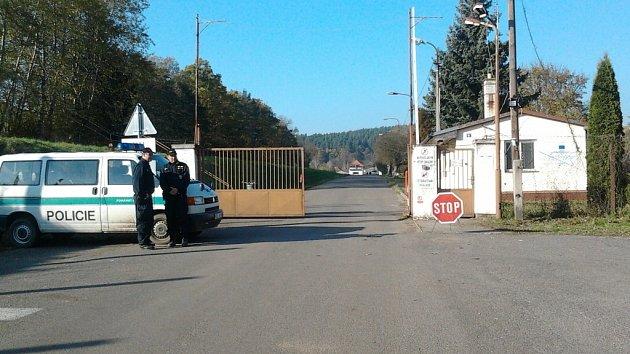 Objekt muničního skladu ve Vrběticích. Ilustrační foto.