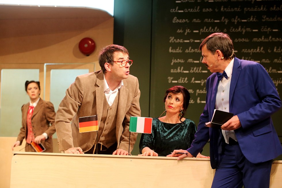 Hra Pan Kaplan má stále třídu rád v Městském divadle ve Zlíně.